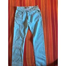 Pantalon Chupin De Hombre Cara Cruz Nuevo Talle 30