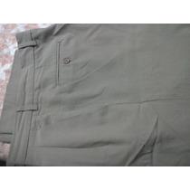 Pantalón De Vestir De Lana. Para Hombre