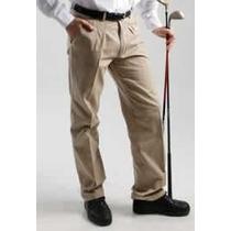 Pantalon De Gabardina Pinzado - Oggi