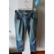 Jean Chupin Levis Mujer, Talle 26 Con Tachas, Impecable