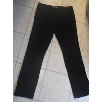 Fino Pantalon Basement Pana Elastizada Tiro Medio
