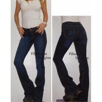 Pantalón Oxford Jeans Azul Elastizado/gabardina De Colores