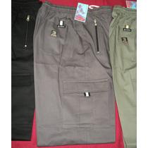 Pantalon Nautico Cargo De Gabardina Talles 1 Al 4
