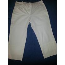 Pantalon Capri Blanco. Marca Sacada. ( Brasil)