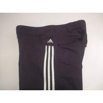 Pantalon Adidas Climalite Talle L De Mujer Negro Y Blanco