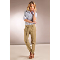 Pantalón Sport Vestir Con Lazo Varios Colores Giacca