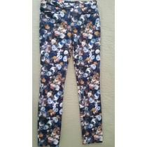 Zara España-pantalon Floreado-24-recien Llegado!!!