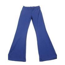 Pantalón Azul Jogging Semioxford Mujer Nuevo Talle M