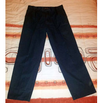 Pantalon Pinzado De Vestir Legacy Color Azul
