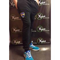 Pantalon Chupin Babucha Boca Juniors Escudo