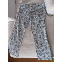 Pantalon Capri Motivos Búlgaros Divino