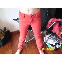 Pantalon Rojo - Talle 10 - Liviano - Chupin