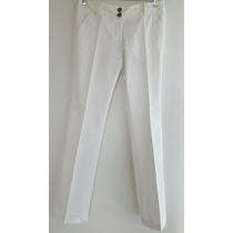 Uma. Pantalón Blanco. Talle 1. Nuevo!!!!!!