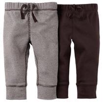 2 Pantalones Bebe Al Precio De Uno! Inportados Carters
