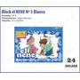 Block El Nene Blanco Nº 5 - Para Dibujo Acuarela Tempera