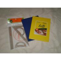 Cuaderno Exito 98 Hojas + Set De Geometria