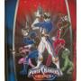 Carpeta Escolar Power Rangers Num 3 C Tres Anillos Retro
