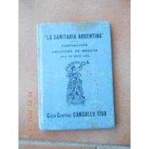 Carnet Sin Valor Legal La Sanitaria Argentina