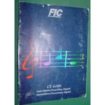 Manual De Usuario Auto Stereo Cs 4100 Radio 23 Paginas