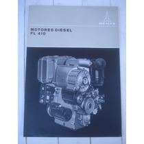Antiguo Folleto Motores Diesel Fl 410deutz-germany