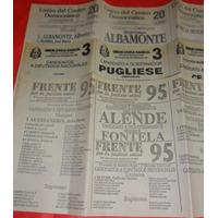 Lote 15 Boletas Elecciones 1991 Prov. Buenos Aires