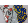Futbol Souvenir Imanes River Boca Artesanales Fibrofacil X12