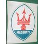 Maserati Logo Automovilismo Calcomania Agua Antigua Autos