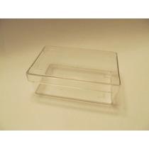 Cajas Plasticas Cristal Para Tarjetas Numero 3 X 50 U.