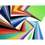 20 Cartulinas Escolar Colores Varios En V. Crespo
