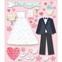 Plancha De Stickers Tridimensionales Wedding Dress Shop K&co