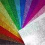 Goma Eva Super Glitter (con Brillo) 40 X 60 X 10 Unidades