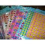 Planchas De Stickers A4 De Caritas/ Estrellas/lunas/etc