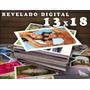 X100 Revelado Digital Fotos En 13x18 Papel Fotografico