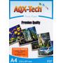 Papel A4 Glossy Fotografico Premium 200grs 50 Hojas Aqx-tech