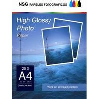 Papel Fotografico A 4 Glossy 260 Gs 200 Hojas Oca