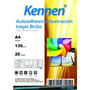 Papel Foto Autoadhesivo Kennen 20h. Glossy Sticker Brillo A4