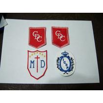 Parches Escudos Logos Bordados Escuelas Empresas