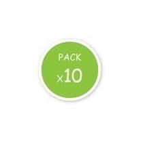 Pack X10 Tortuga Metalica - Oferta
