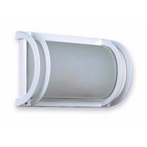 Tortuga De Aluminio Sin Reja Blanca. Bajo Consumo