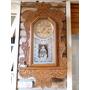 Antiguo Reloj De Pared Ansonia Con Soneria