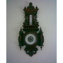 Reloj Y Barometro Antiguo