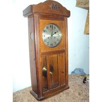 Antiguo Reloj De Pared Alemán Junghans Wurttemberg (148)