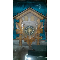 Hermoso Reloj Cucu Musical Original Selva Negra A Reparar
