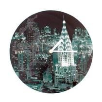 Reloj De Pared Diseño New York Morph
