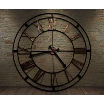 Reloj En Hierro Con Maquina