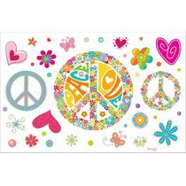 Wall Stickers Autoadhesivos Muresco Infantil Paz Vinilo