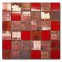 Guarda Malla Mosaico Ceramico 30x30 Carpet Rojo