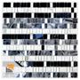 Mosaicos Con Espejo Misiones Deco Jaipur Grey 30x30 Venecit