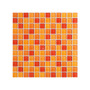 Malla De Vidrios Granada 30x30 (naranja/ Rojo) - Misiones -