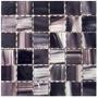 Guarda Malla Mosaico Vidrio 30x30 Oleo Violeta